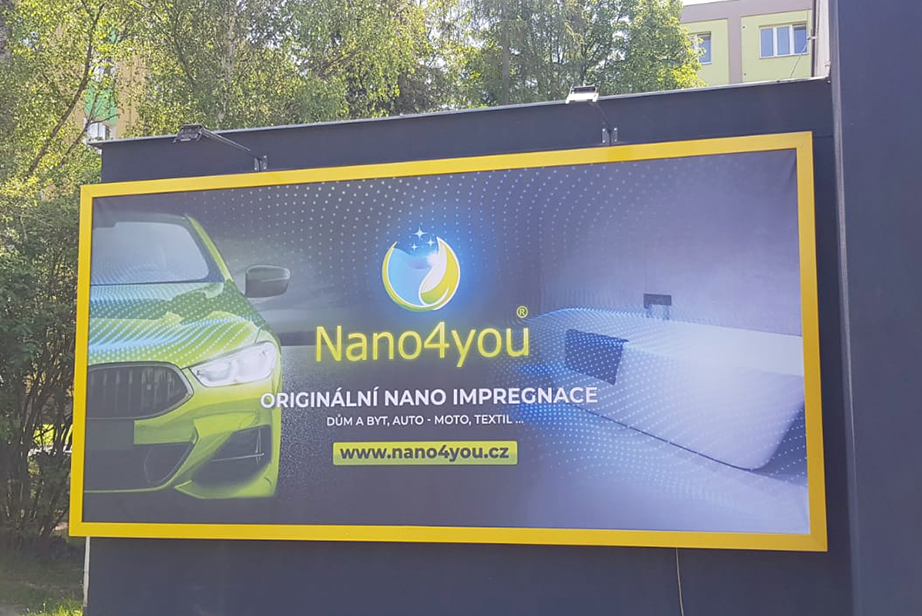 Nástěnný billboard