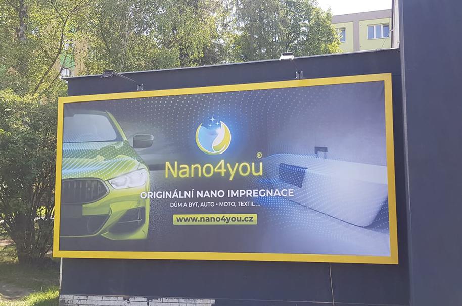 Nástěnný billboard 5,1 × 2,4 m