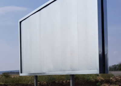 oboustranný billboard