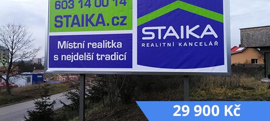 Zabetonovaný billboard
